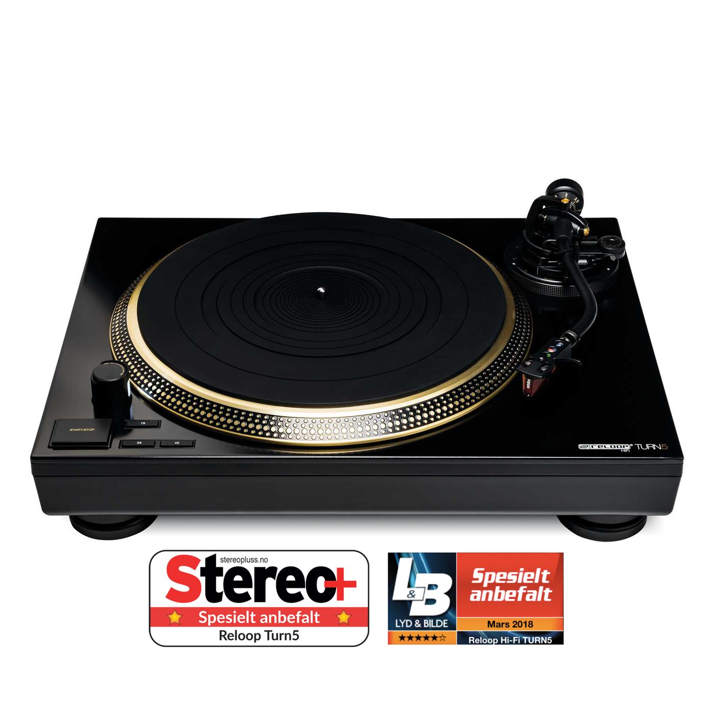 108690   Reloop TURN5 LEDT Performance P. BRONZE Ink.Ortofon 2M Bronze